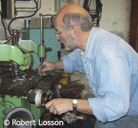 Robert Losson au pantographe